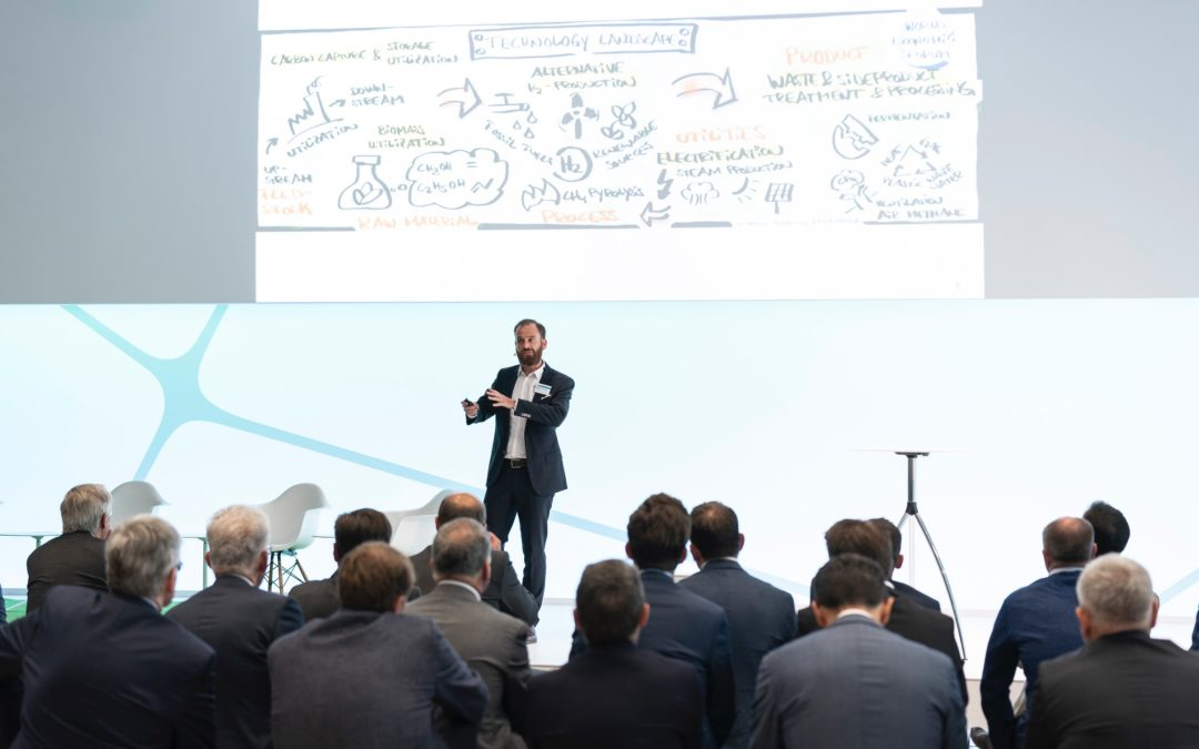pictomind develops concept and facilitates major workshop: Technology experts from the chemical industry want to reduce CO2 emissions through collaboration